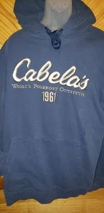 💚 Cabela's Hoodie size XL Tall